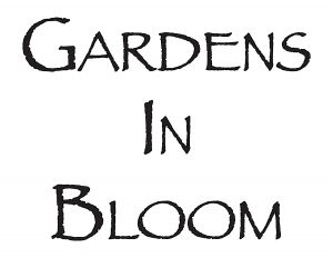 Gardens in Bloom Logo Text Black